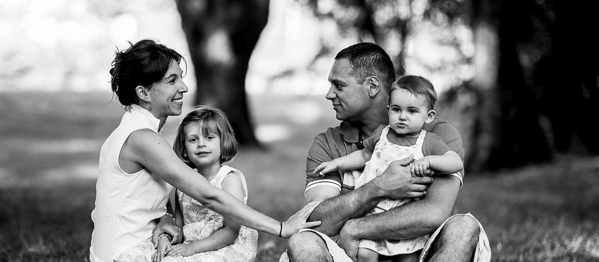 Séance Famille : Juliette, Clarisse, Aurélie & Fabien