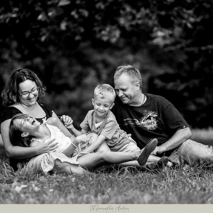 Séance Famille : Quentin, Laurianne, Séverine & Xavier