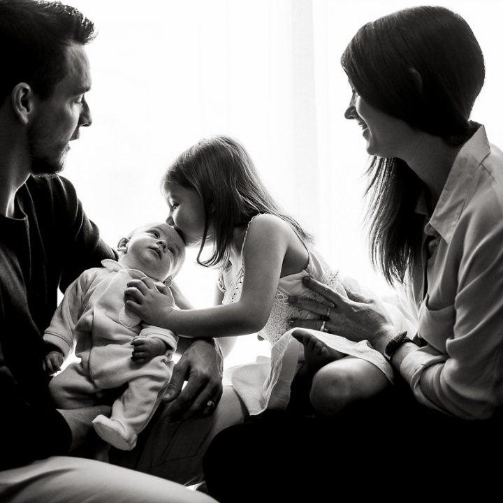 Maxence, Inès, Delphine & Gilles
