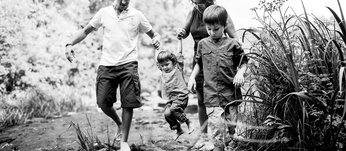Séance Famille : Jules, Anthonin, Virginie & Mathieu